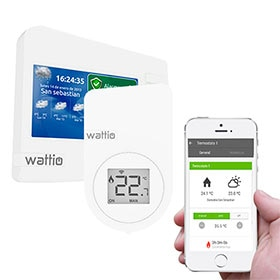 Termostato inteligente Wattio Smart Confort