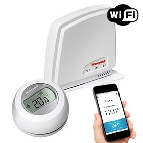 Termostato inteligente Honeywell Round