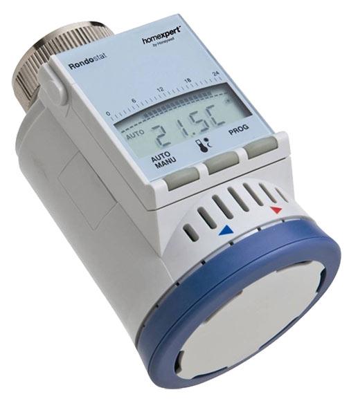 Cabezal de v lvula para termostato inteligente honeywell for Termostato leroy merlin