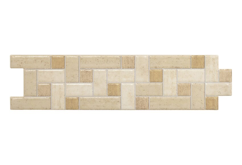 Cenefa 6 5 x 25 cm beige serie cenefas modernas ref - Revestimiento de paredes leroy merlin ...