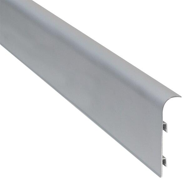 Z calo 2 m x 70 mm nogal serie pelda os y torelos aluminio - Zocalo cocina aluminio leroy merlin ...