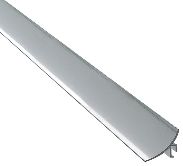 Perfil de transici n 3 x 250 cm plata mate serie rodapi s - Zocalo cocina aluminio leroy merlin ...