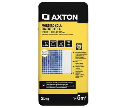 Axton Mortero cola EXTERIOR 25KG