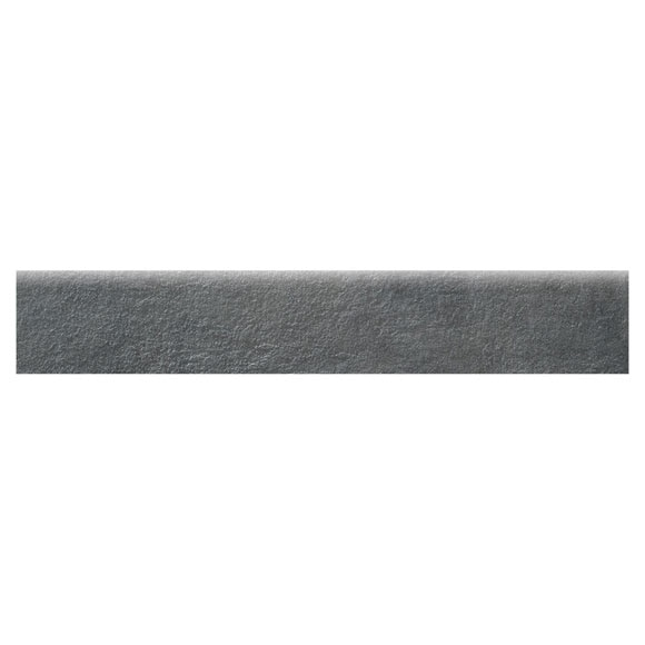 Rodapi 47 2 x 8 cm negro serie dolcevita ref 19481441 for Rodapie negro