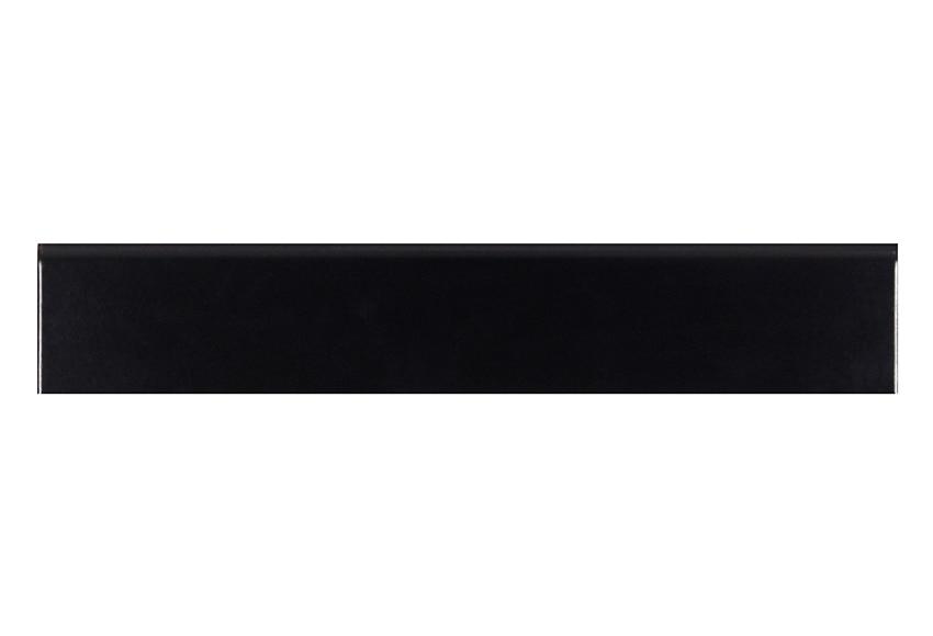 Rodapi 45 x 8 cm black mate serie rodapi s cl sicos ref for Rodapie negro