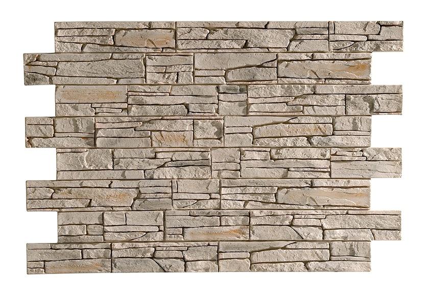 Panel de poliuretano con acabado piedra panespol soria - Leroy merlin piedra pared ...