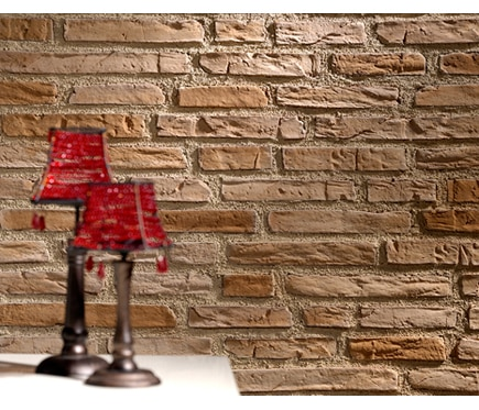 Panel de poliuretano con acabado ladrillo panespol - Revestimiento de fachadas leroy merlin ...