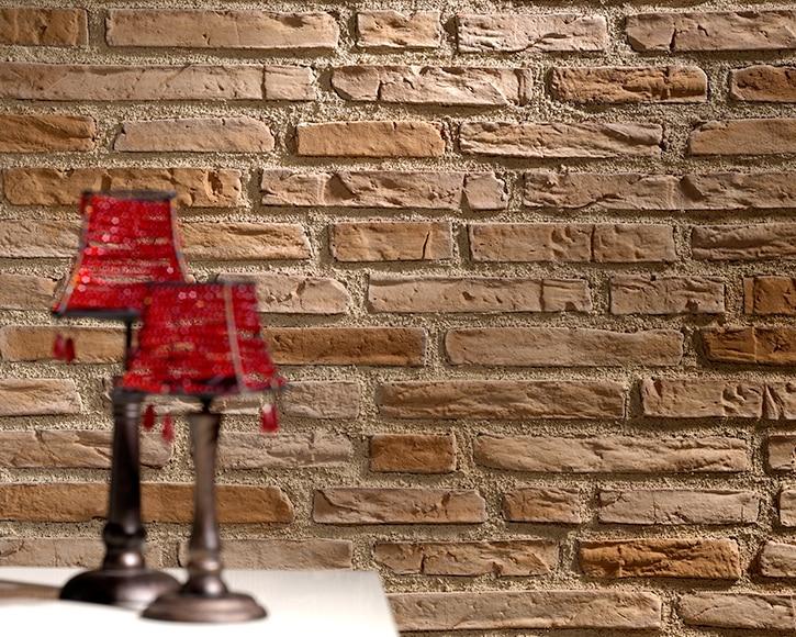 Panel de poliuretano con acabado ladrillo panespol - Pared imitacion ladrillo ...