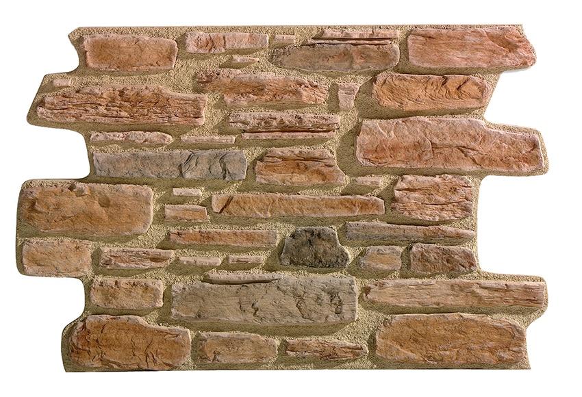 Panel de poliuretano con acabado piedra panespol piedra for Plaqueta imitacion piedra para exterior