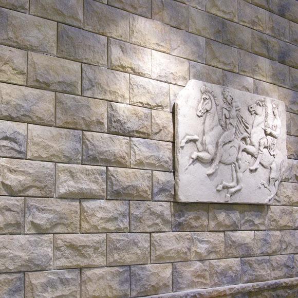 Aplacado de hormig n verniprens pirineos ordesa ref - Plaqueta decorativa piedra ...