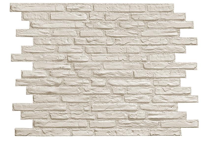 Panel de poliuretano con acabado ladrillo bricopol for Plaqueta imitacion piedra para exterior