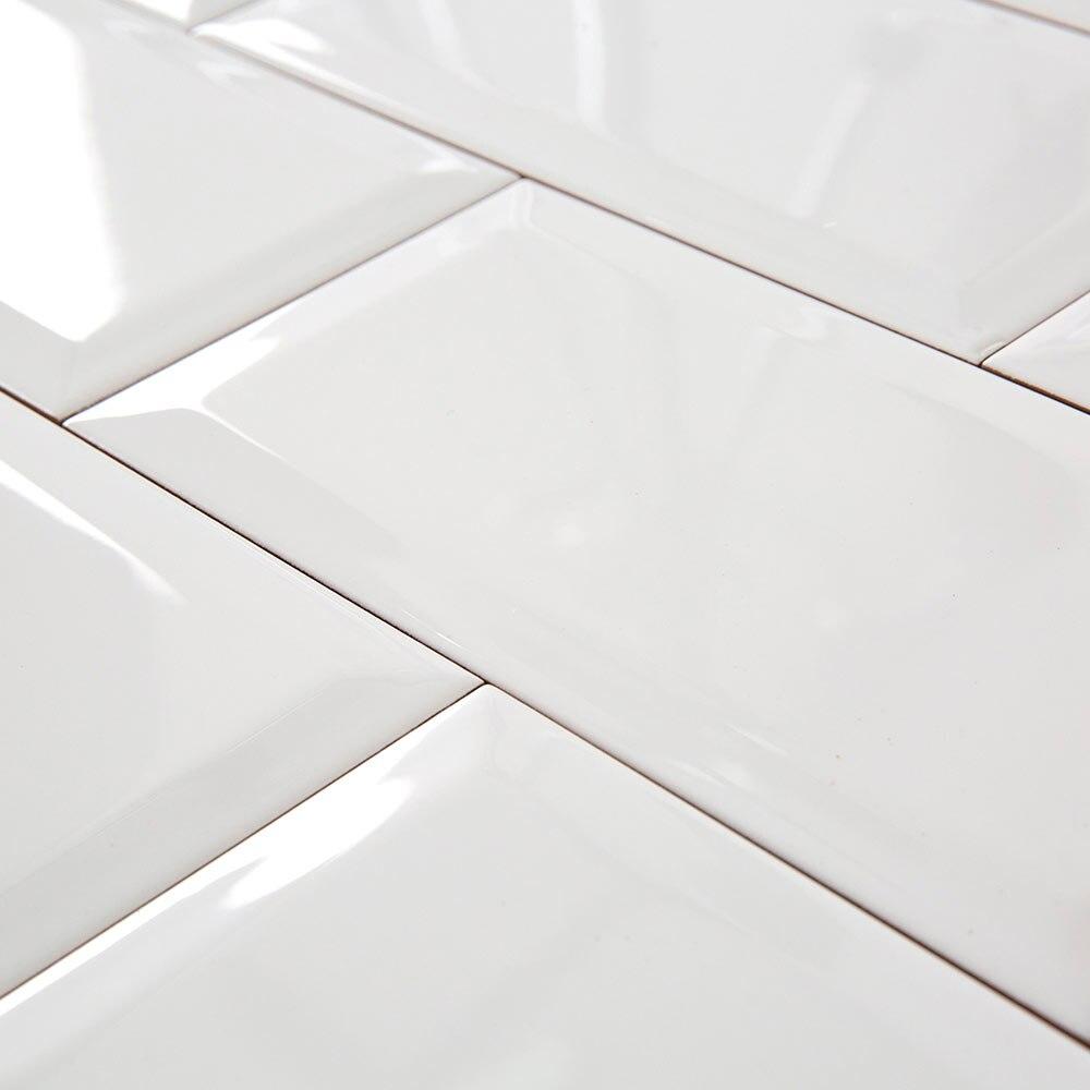Serie biselado leroy merlin - Azulejos blancos ...