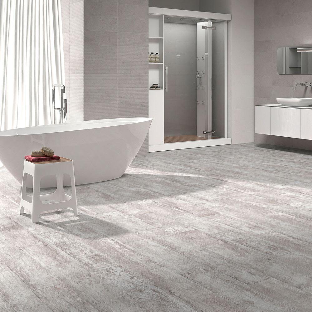 pavimento fabricado en porcelnico indicado para interior y exterior piezas slim de 52 mm espesor permiten una instalacin incluso sobre cermica - Suelo Ceramica Imitacion Madera