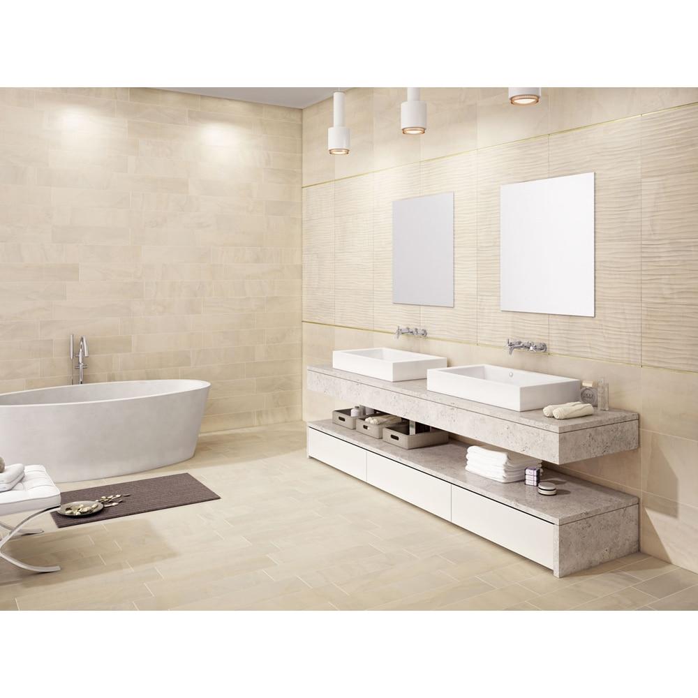 Pavimento 32x62 5 cm cream serie dubai ref 17043901 - Leroy merlin pavimentos ...