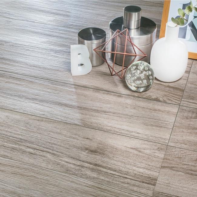 Pavimento 20x120 cm gris artens serie escandinavia ref for Pavimento legno esterno leroy merlin