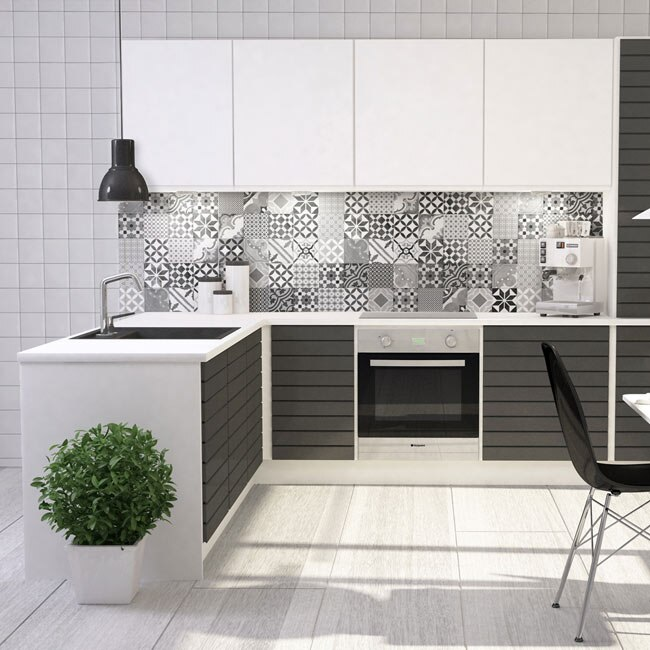 revestimiento 30x60 cm reims grey serie krea ref 17939530. Black Bedroom Furniture Sets. Home Design Ideas