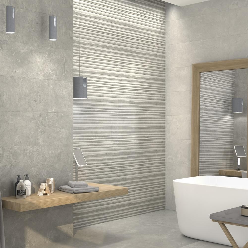 Azulejo imitacion gresite free combina el gresite con - Azulejos mosaicos para banos ...