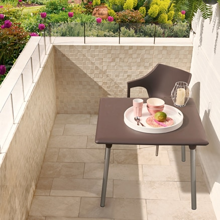 Cer mica para exterior y terraza leroy merlin - Azulejos de terraza ...