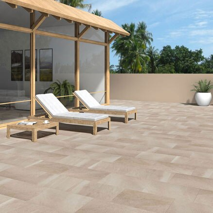 Cer mica para exterior y terraza leroy merlin for Pavimentos para terrazas exteriores