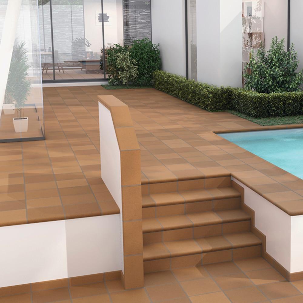 Serie fierrogres leroy merlin - Azulejos de terraza ...