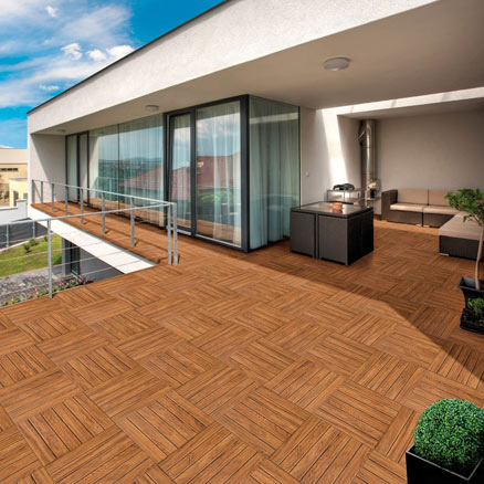 Cer mica para exterior y terraza leroy merlin - Nivelador de piso ceramico leroy merlin ...