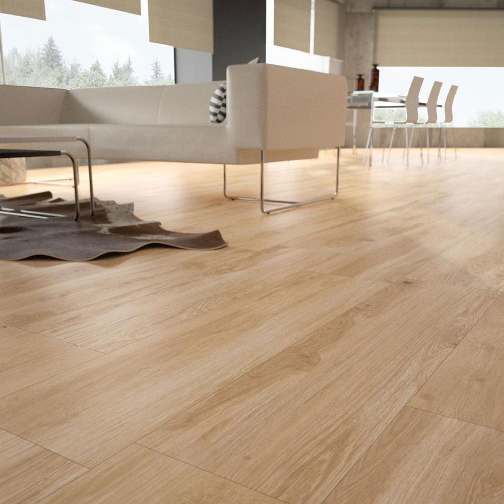Pavimento 23 3x68 haya artens serie enzo ref 17371942 leroy merlin - Soleria imitacion madera ...
