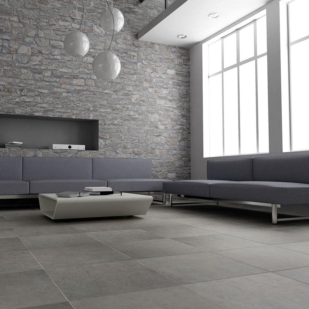 Pavimento 45x45 cm pulpis serie pietras ref 17025162 leroy merlin - Pavimentos porcelanicos interior ...