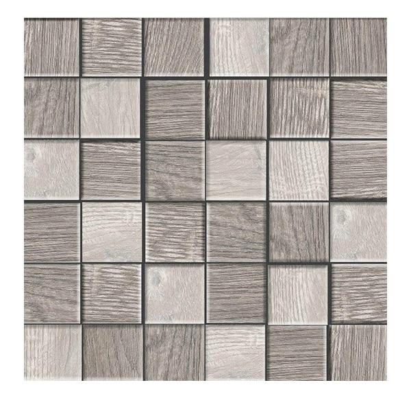 Mosaico 30x30 cm gris serie legno ref 17369352 leroy merlin - Leroy merlin piastrelle mosaico ...
