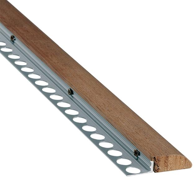 Perfil para pelda o 1 1 x 100 cm natural serie pelda os y for Perfiles de madera