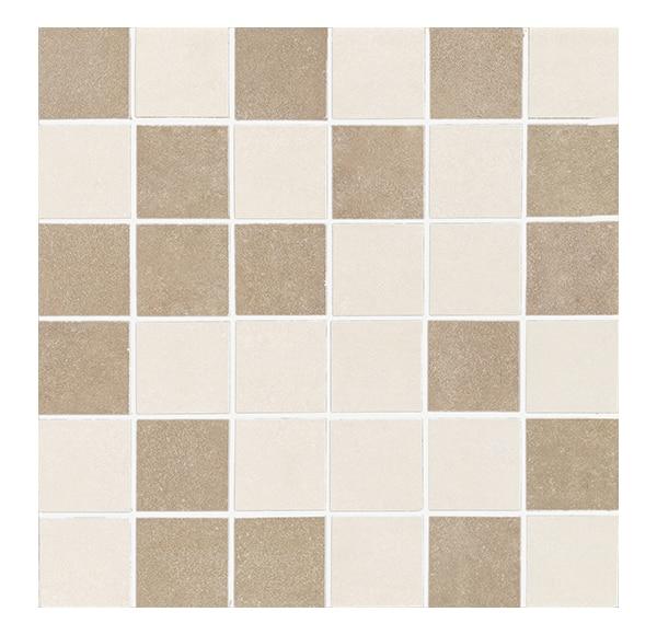 Mosaico 31x31 cm beige mix serie zement ref 16250955 - Mosaico leroy merlin ...