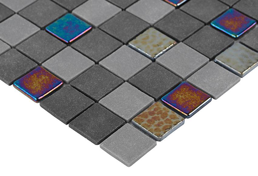 Malla 33 x 33 cm vison dark gems serie ink collection ref - Toner leroy merlin ...