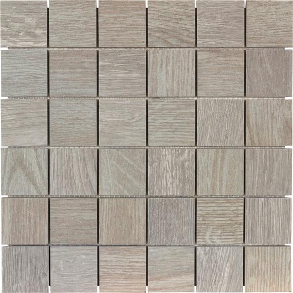 Mosaico 30x30 multi gris serie legno ref 17369352 leroy - Piastrelle mosaico leroy merlin ...