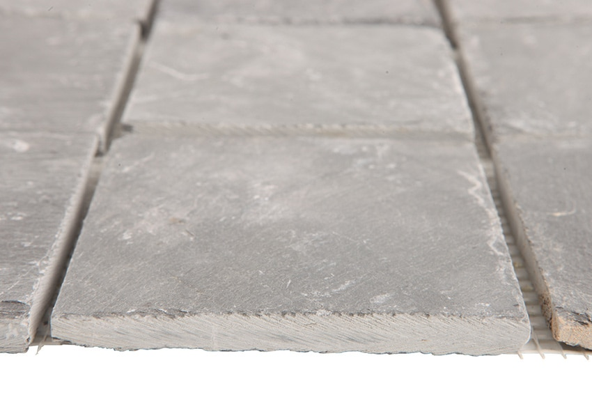 Malla 30 x 30 cm pizarra negra serie pizarra slate ref for Pizarra adhesiva leroy merlin