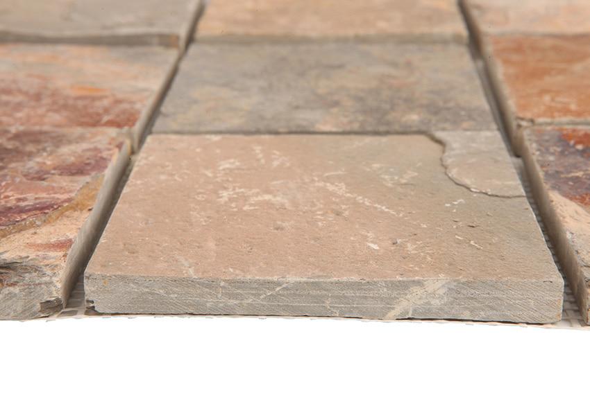 Malla 30 x 30 cm pizarra xido serie pizarra slate ref for Pizarra adhesiva leroy merlin