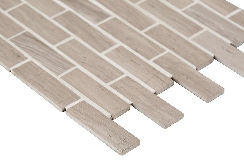 Malla 30 x 30 cm smart m rmol gris serie smart marble ref - Smart tiles chez leroy merlin ...