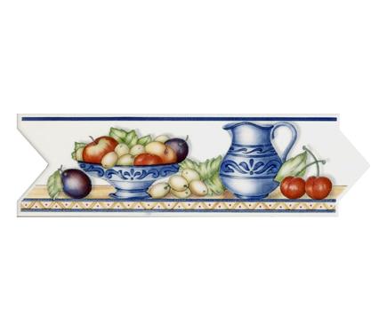 Cenefa 8 x 25 cm ribera cocina clara serie cenefas for Cenefas para cocina