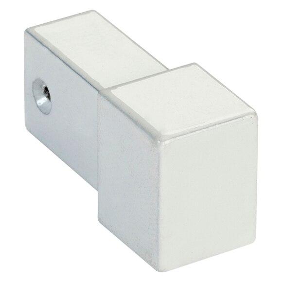 Ngulo 10 mm blanco serie perfiles aluminio ref 15484546 - Perfil aluminio blanco ...
