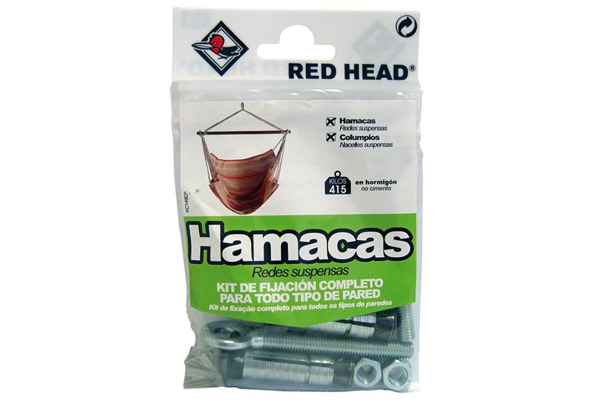 Kit de fijaci n red head kit de fijaci n para hamaca ref for Hamacas leroy merlin