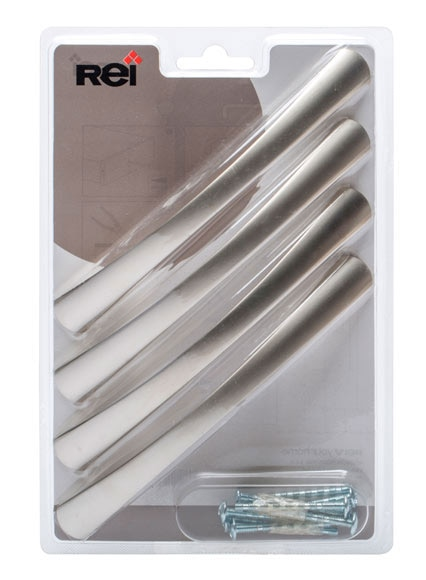 Lote 4 tiradores aluminio n quel serie funcional ref - Leroy merlin tiradores ...