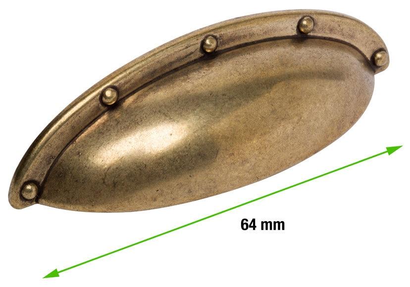 6 tirador concha bronce bl ster serie r stica ref - Temario fp cocina y gastronomia ...