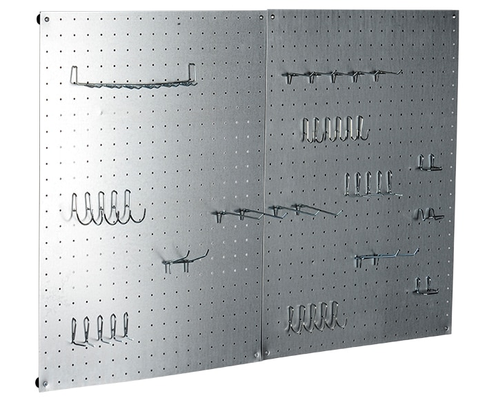 Panel perforado de 45cm de alto ref 13665820 leroy merlin - Panel perforado blanco ...