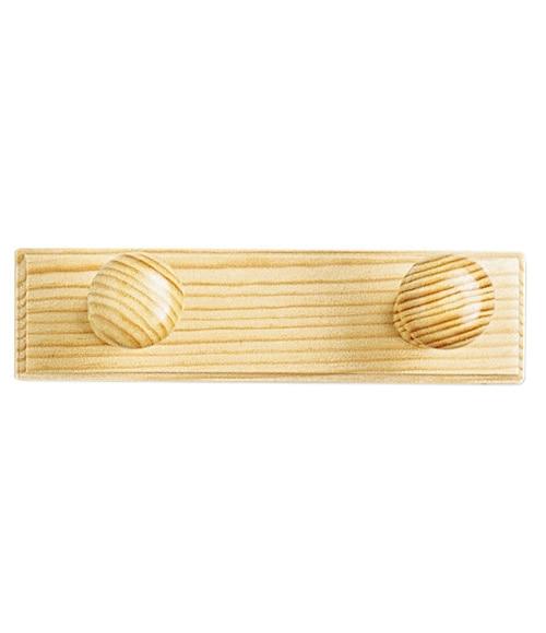 Perchero madera 2 pomos ref 10349843 leroy merlin - Leroy merlin pomos ...