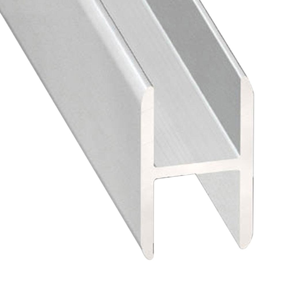 Perfil en h aluminio anodizado ref 13843515 leroy merlin for Perfil u aluminio leroy merlin