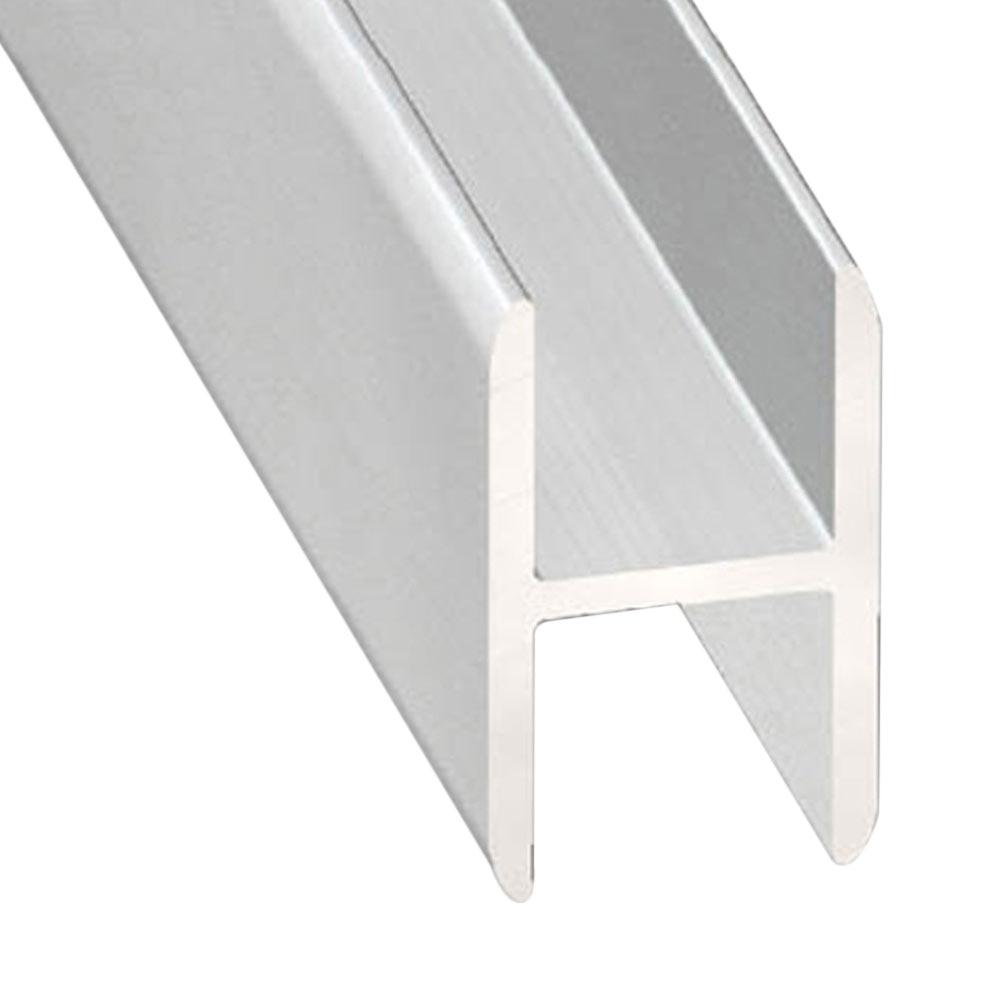 Perfil en h aluminio anodizado ref 13843522 leroy merlin - Tipos de perfiles de aluminio ...
