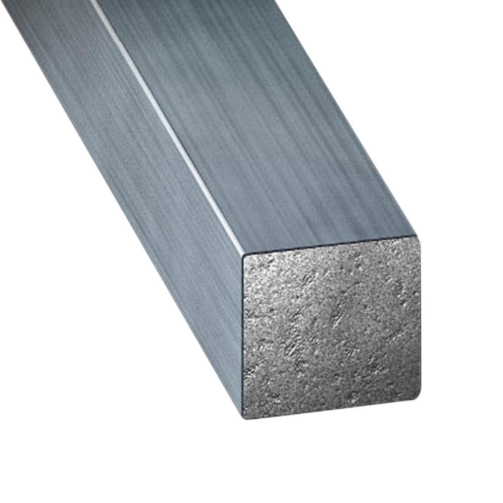 Tubo cuadrado acero estirado gris ref 67200 leroy merlin - Tubo cuadrado acero ...
