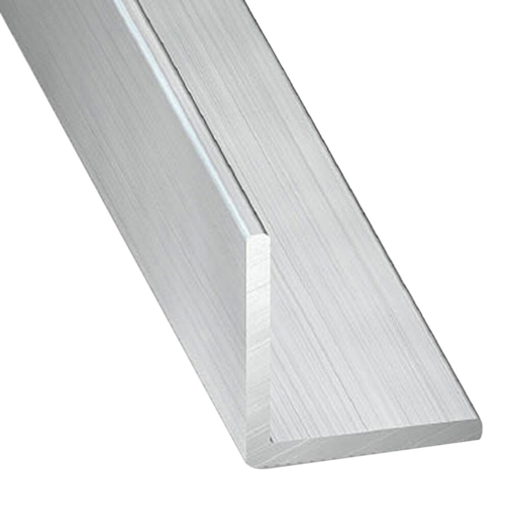 Perfiles en l de aluminio materiales de construcci n for Perfil u aluminio leroy merlin