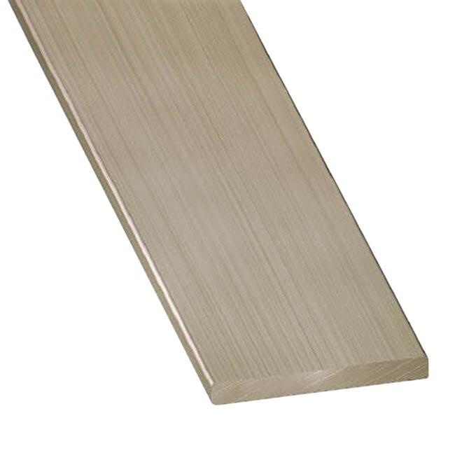 Perfil liso acero inoxidable gris plata ref 13843956 - Perfiles acero inoxidable ...