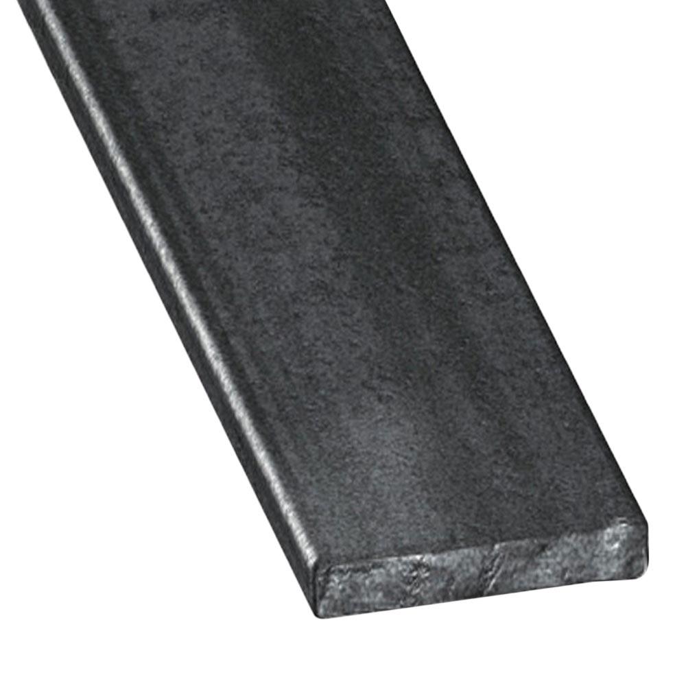 Perfil liso acero laminado caliente gris grafito ref 631890 leroy merlin - Color gris acero ...