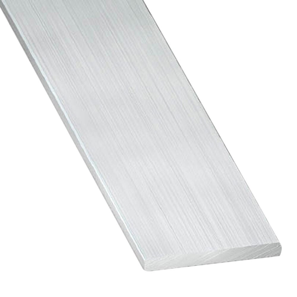 Perfil liso aluminio bruto gris plata ref 703465 leroy for Perfil u aluminio leroy merlin