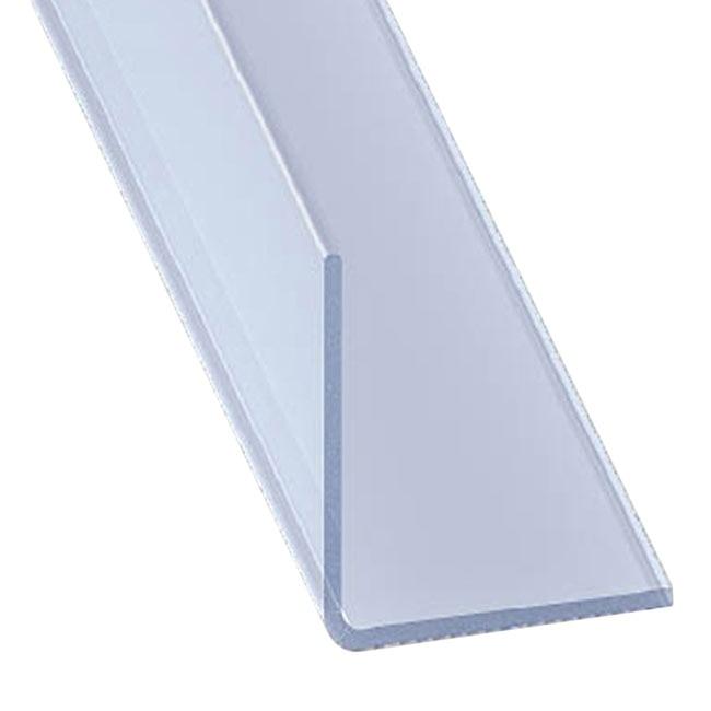 Ngulo pvc en transparente ref 13917043 leroy merlin for Metacrilato transparente leroy merlin